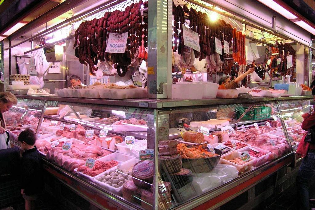 Mercado Central de Atarazanas - Málaga l carnicería