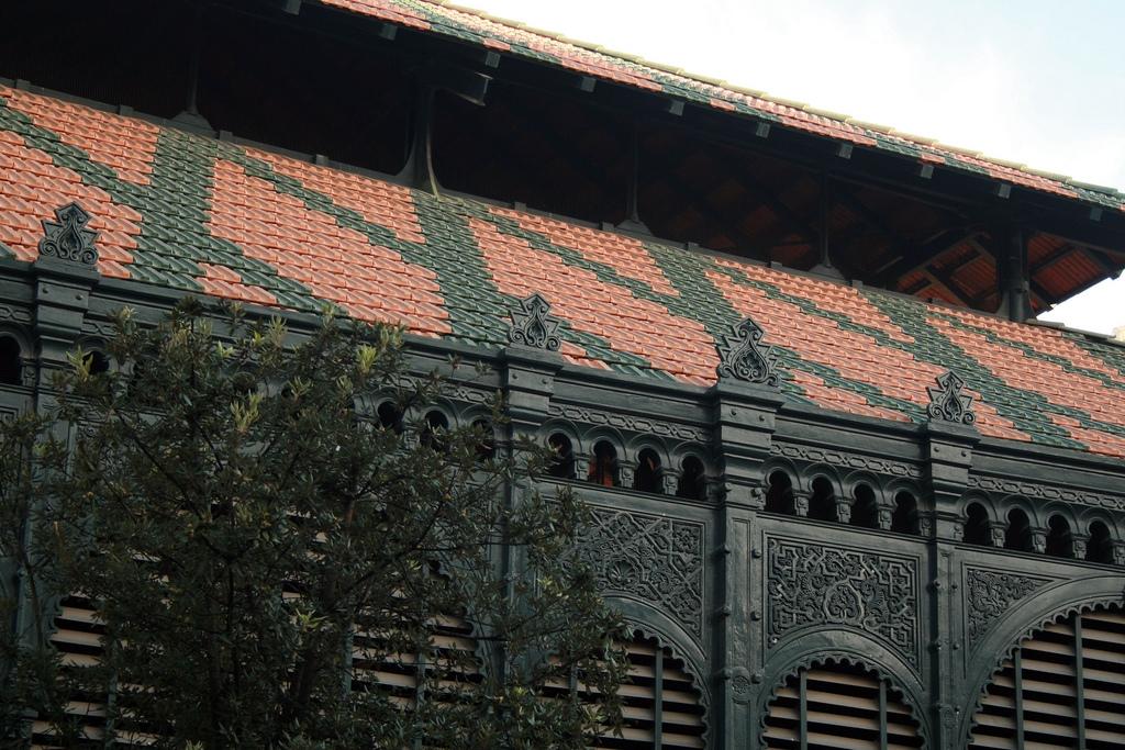 Mercado Central de Atarazanas - Málaga l facade