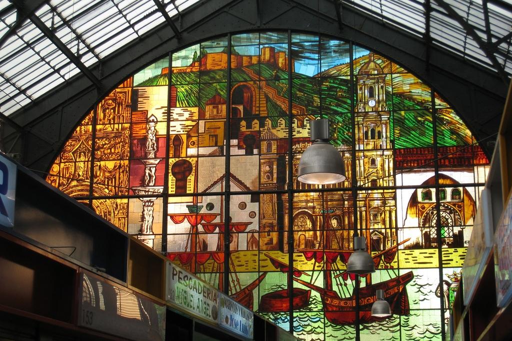 Mercado Central de Atarazanas - Málaga l glas