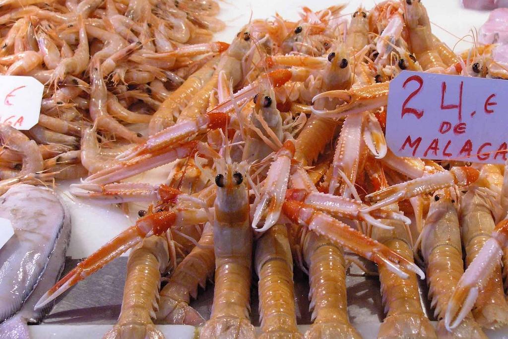 Mercado Central de Atarazanas - Málaga l langoustines