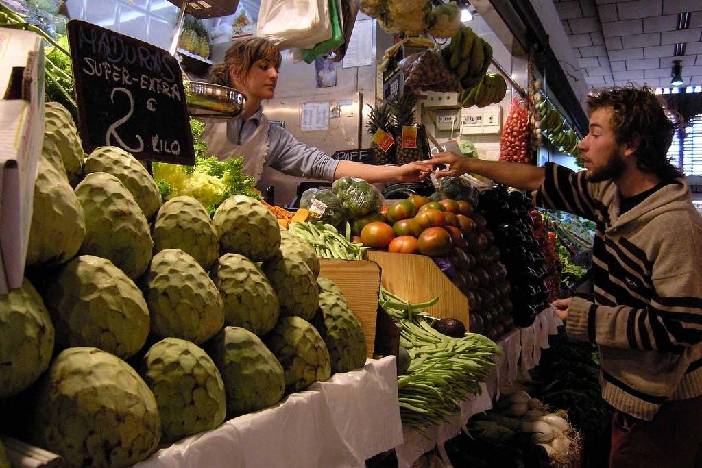 Mercado Central de Atarazanas - Málaga l groente